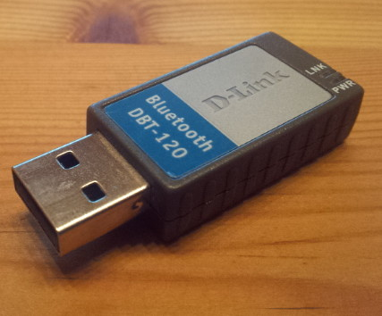 D-Link DBT-120 USB bluetooth adapter